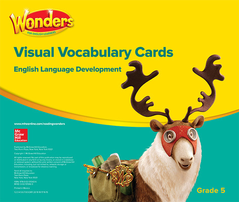 Wonders for English Learners G5 Visual Vocabulary Cards