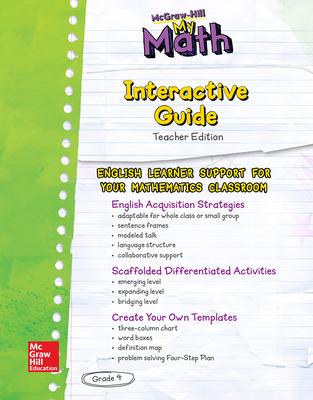MH My Math ELD TE Grade 4