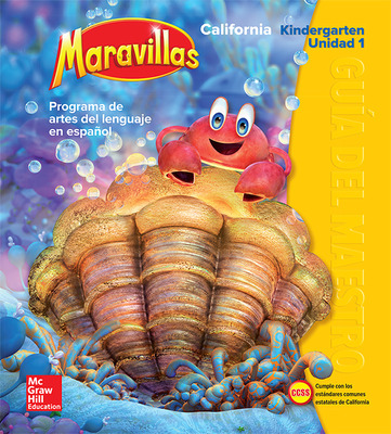 Lectura Maravillas CA | Teacher's Edition Volume 1 Grade K