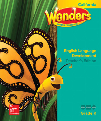 Wonders for English Learners CA GK Teacher's Edition