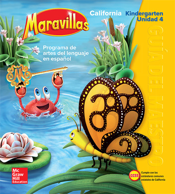 Lectura Maravillas CA | Teacher's Edition Volume 4 Grade K