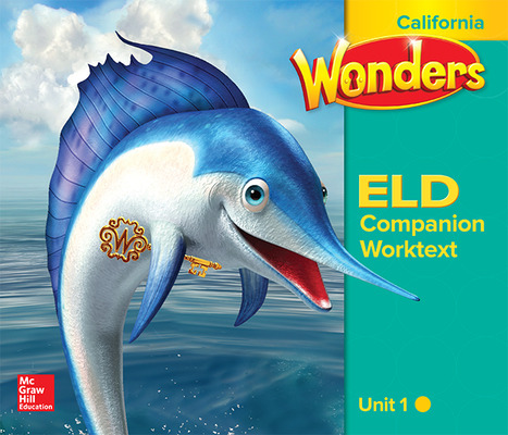 Wonders for English Learners CA G2 U1 Interactive Worktext/Emerging