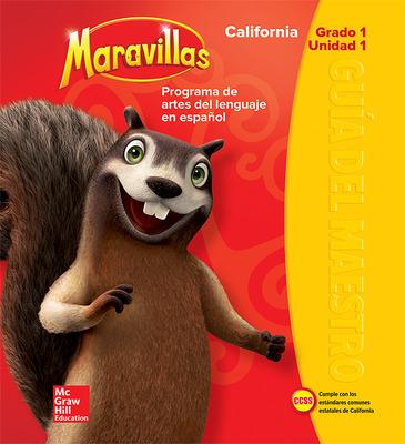 Lectura Maravillas CA | Teacher's Edition Volume 1 Grade 1