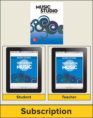 Spotlight on Music, Grade 6 Digital Bundle, 1 Year