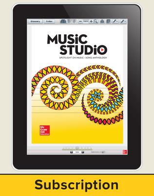 Spotlight on Music, Grade K Online Student Course Ten  Seat Add-On, 6 Year Subscription