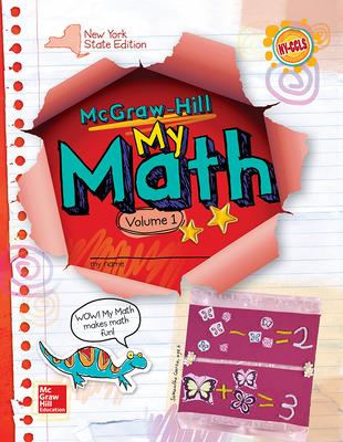 CUS New York My Math Grade 1 Student Edition vol 1 v2