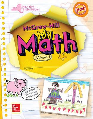 CUS New York My Math Grade K Student Edition vol 1 v2