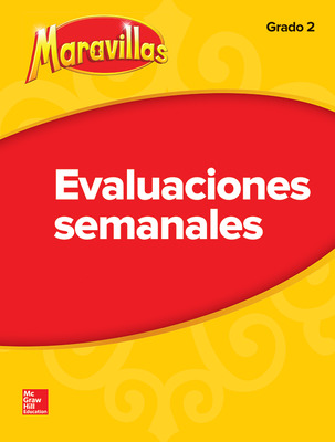 Lectura Maravillas Student Weekly Assessment Grade 2