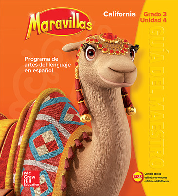 Lectura Maravillas CA | Teacher's Edition Volume 4 Grade 3