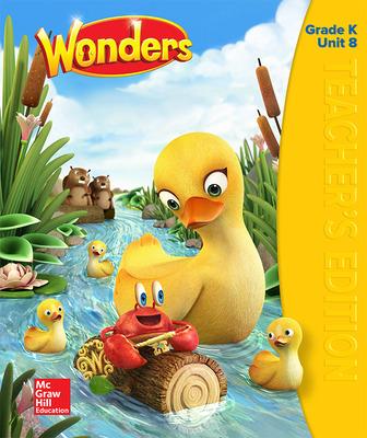 Wonders Teacher's Edition, Volume 8, Grade K