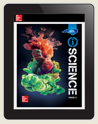 Integrated iScience, NC, Course 1, Grade 6, eStudent Edition, 1-year subscription