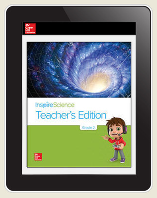 Inspire Science Grade 2, Online Teacher Center, 7-Year Subscription
