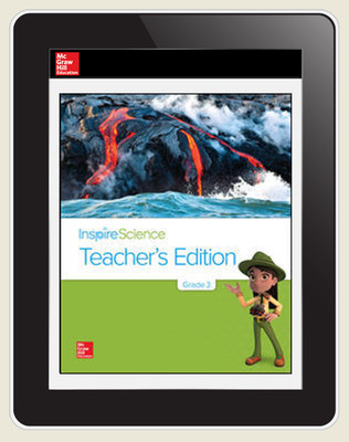 Inspire Science Grade 3, Online Teacher Center, 3-Year Subscription