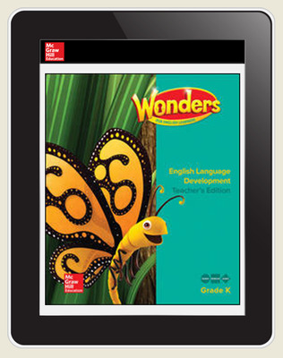 Reading Wonders for English Learners Student Workspace 8 Yr Subscription Grade K