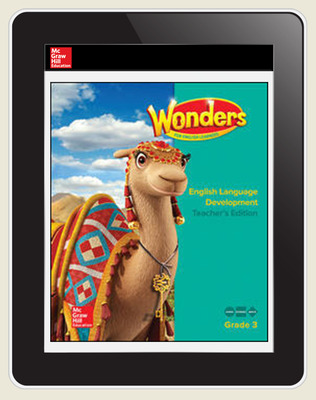Reading Wonders for English Learners Student Workspace 8 Yr Subscription Grade 3