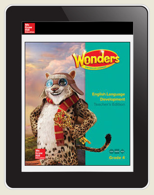 Reading Wonders for English Learners Student Workspace 8 Yr Subscription Grade 4
