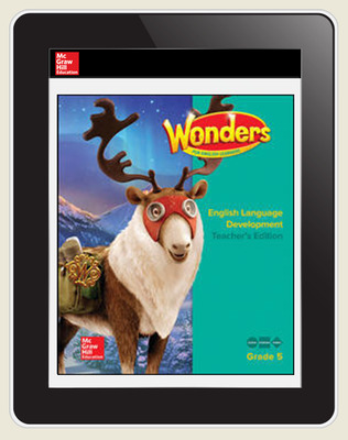 Reading Wonders for English Learners Student Workspace 8 Yr Subscription Grade 5