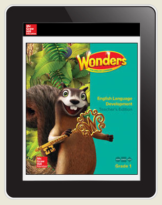 Reading Wonders for English Learners Teacher Workspace 8 Yr Subscription Grade 1
