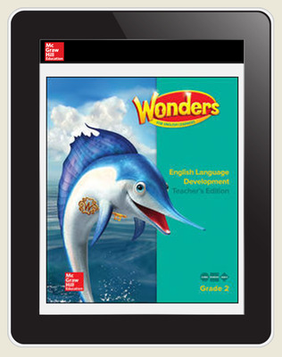 Reading Wonders for English Learners Teacher Workspace 8 Yr Subscription Grade 2