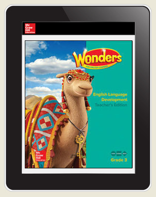 Reading Wonders for English Learners Teacher Workspace 8 Yr Subscription Grade 3
