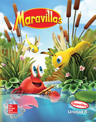 Maravillas Reading Writing Workshop Big Book, Unit 5, Kindergarten