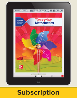 Everyday Mathematics 4, Grade 1, All-Digital Student Material Set, 1 Year
