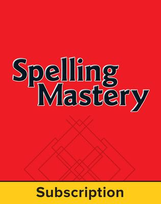 Spelling Mastery Level E Teacher Online Subscription, 1 year