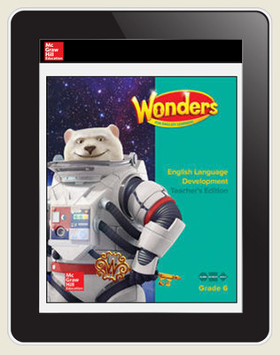 Reading Wonders for English Learners Teacher Workspace 8 Yr Subscription Grade 6