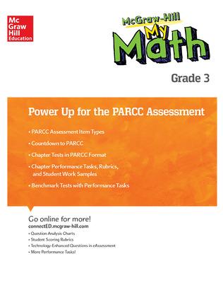 MH My Math, Grade 3, Power Up for PARCC Assessment