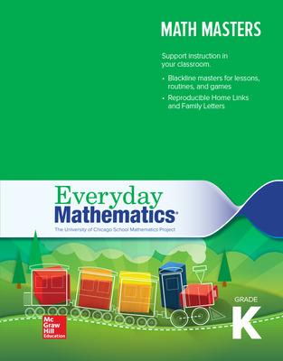 Everyday Mathematics 4, Grade K, Math Masters