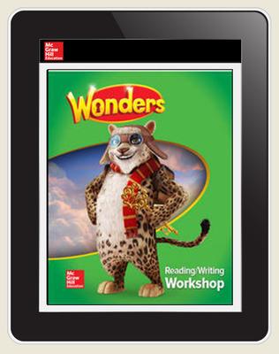 Wonders, Grade 4 Teacher Workspace 8-Year Subscription