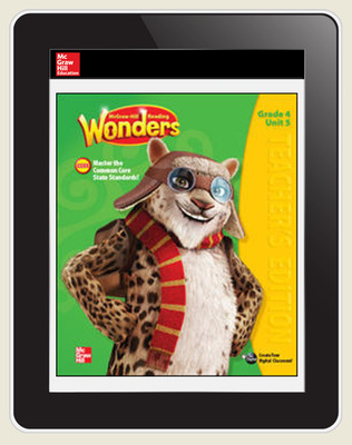 Wonders, Grade 4 Student Workspace 8-Year Subscription
