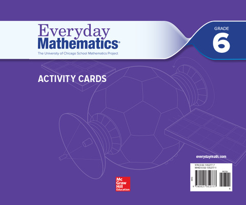 Everyday Mathematics 4, Grade 6, Activity Cards
