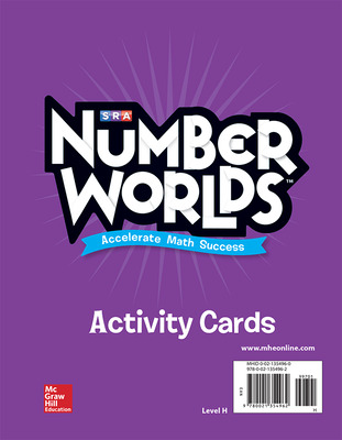 Number Worlds, Level H Activity Cards