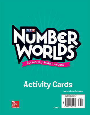 Number Worlds, Level I Activity Cards