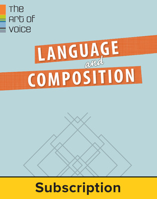 1-Year English Language & Composition  Student Bundle (Student Edition with eBook)