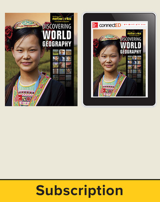 Discovering World Geography, Complete Classroom Set, Print and Digital 1-Year Subscription