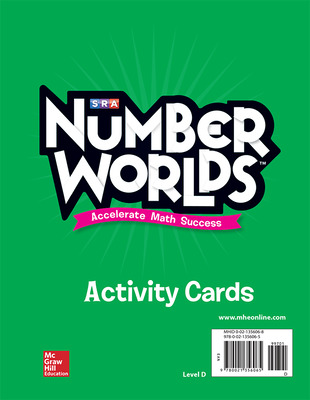 Number Worlds, Level D Activity Cards