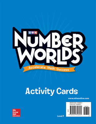 Number Worlds, Level F Activity Cards