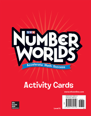 Number Worlds, Level G Activity Cards
