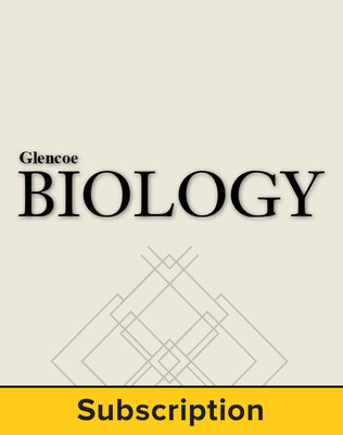 Glencoe Biology, LearnSmart® Teacher Edition, 1-year subscription