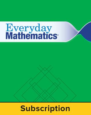EM4 Comprehensive Student Materials Set with HomeLinks, 6 Year Subscription, Grade K