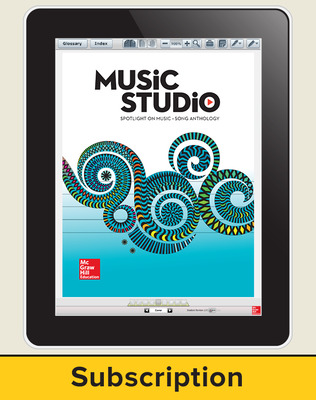 Spotlight on Music, Grade 2 Online Student Course Ten  Seat Add-On, 6 Year Subscription
