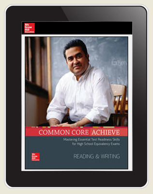 Common Core Achieve, Online subscription, 3-year