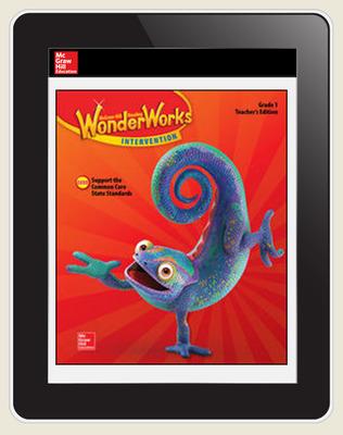 OKS - Reading WonderWorks Student Workspace Six Seats w/7Yr. Subscription Grade 1