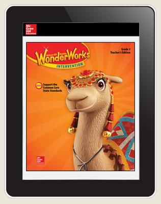 OKS - Reading WonderWorks Student Workspace Six Seats w/7Yr. Subscription Grade 3