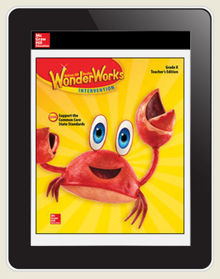 OKS Reading WonderWorks Teacher Workspace 8 Year subscription, Grade K