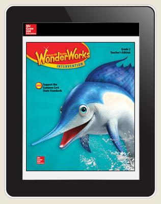 OKS Reading WonderWorks Teacher Workspace 8 Year subscription, Grade 2