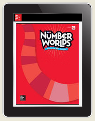 Number Worlds Level G Student License, 3-year subscription