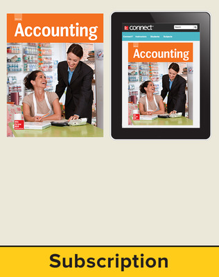 Glencoe Accounting, Print Student Edition and Online Bundle, 1 year subscription